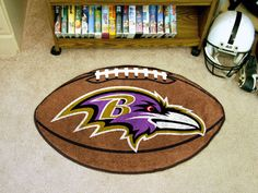 ce27bb0e5da Baltimore Ravens Football Mat Bears Football, Packers Football, Saints  Football, Pittsburgh Steelers Football