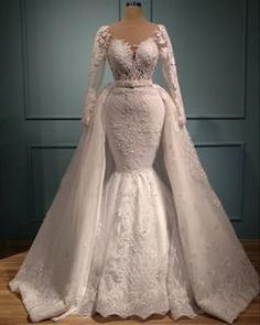 Shop for beautiful mermaid wedding dresses at Ellaz Bridal! Our mermaid & trumpet wedding dresses come in a variety of sizes & styles, including lace. Making A Wedding Dress, Wedding Dress Styles, Dream Wedding Dresses, Bridal Dresses, Wedding Gowns, Wedding Suits, Sheath Wedding Gown, Mermaid Dresses, Afro