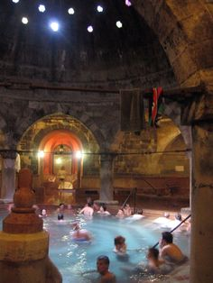 the Rudas Baths in Budapest.. Found these by mistake but a memorable experience