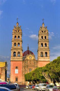 The diocesan sanctuary of Our Lady of Light (Nuestra Señora de la Luz), Salvatierra, Guanajuato, Mexico.