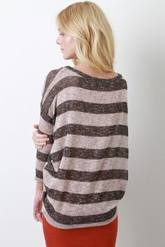 Oversized sweater!