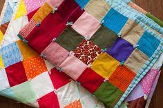 Gorgeous patchwork quilts...