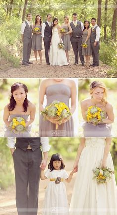 YES YES YES. to the colors and the mens dress. but i dont like the dresses for the bridesmaids or the flower girl! or the wedding gown