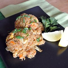Mom, What's For Dinner?: Vegetarian Chicken Fried Quinoa