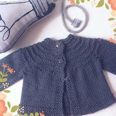 Tricô e Mais Tricô: Casaquinho de Bebê em Tricô - 5 Hour Baby Sweater