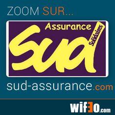 Zoom sur le site:  http://sud-assurance.wifeo.com/ Ce site utilise un kit graphique ainsi qu'un de nos menus avec un très beau résultat
