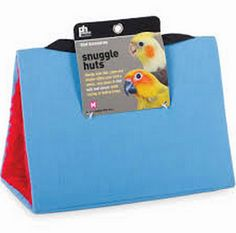 Small Blue 2 Snuggle Hut for Birds by Prevue Pet 1163