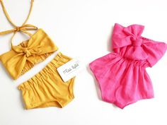 Baby Girl Sets, baby girl clothes, Baby girl summer, Baby clothes, Mustard outfits, Vintage Classic Baby Girl Dress Patterns, Baby Clothes Patterns, Baby Girl Dresses, Sewing Patterns, Summer Outfits For Moms, Summer Girls, Summer Baby, Cute Outfits With Jeans, Cute Teen Outfits