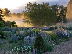 Narborough Hall Gardens, Norfolk, UK