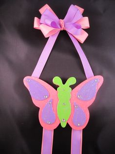 Butterfly Bow Holder