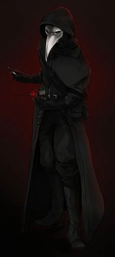 SCP-049 The Plague Doctor