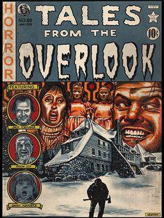 Horror Artwork, Comic Poster, Horror Monsters, Classic Horror Movies, Horror Movie Posters, Horror Comics, Arte Horror, Vintage Horror, The Shining