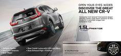 Harga Honda CRV Bandung. All New Honda CR-V, hadir dengan karakter baru yang lebih gagah dan mewah untuk setiap perjalanan yang menakjubkan. Sales: RICKY 082221011136