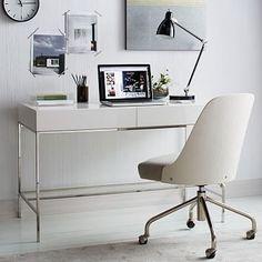 Lacquer Storage Desk West Elm, sale $439 on 4/30/16.