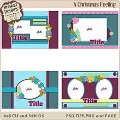A christmas feeling 4x6 greeting card templates a christmas a christmas feeling 4x6 greeting card templates m4hsunfo