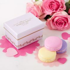 Macaron Soaps in Gift Box, lovely gift