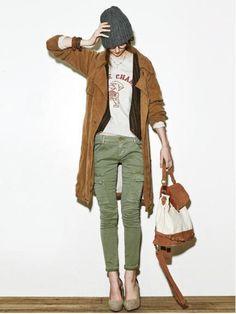 ファッション通販│RUNWAY channel WEB STORE│ランウェイチャンネルウェブストア-カーゴスキニーPT