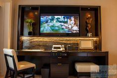 funktionaler Schreibtisch(photo by airfurt.net)  - Check more at https://www.miles-around.de/hotel-reviews/hotel-review-the-peninsula-chicago/,  #Chicago #Grandhotel #Hotel #HotelReview #Illinois #Reisebericht #Restaurant #USA