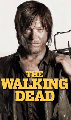 Norman Reedus - Daryl Dixon - The Walking Dead #gc made because it had to be done!