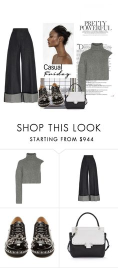 """""""The moments we're missing."""" by lucas-lucas-c ❤ liked on Polyvore featuring Michael Kors, Martin Grant, N°21, Lanvin and Balmain"""