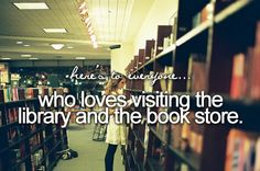 Books, books, books. I love them!
