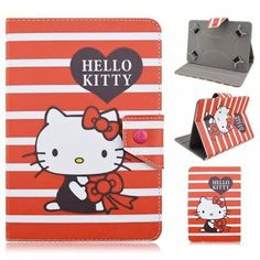 Hello Kitty PU Leather Case Universal 7 inch Tablet Stand Cover 7.0 Tablet Cover 7 inch Universal Tablet Case for kids girls  — 347.58 руб. —