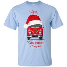 Do Love Combi's?  Christmas Camper ... is in Our Store Now! Get Yours Here! http://parkedlife.com/products/christmas-camper-custom-ultra-cotton-t-shirt?utm_campaign=social_autopilot&utm_source=pin&utm_medium=pin