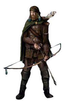 Human Ranger - Pathfinder RPG PFRPG DND D&D d20 fantasy