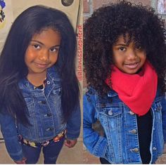 Natural Hair Cuteness...