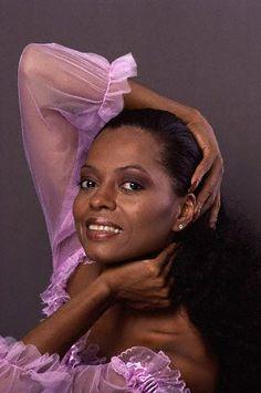 Diana Ross circa 1979 - 1980