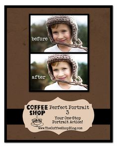 Photoshop actions for portraits