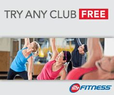 24 Hour Fitness FREE PASS!!! [FREE WEIGHT LOSS EBOOKS AT http://www.exactshare.com]