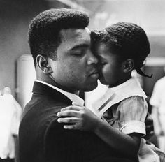 Muhammad Ali, the father. You'll be missed always.