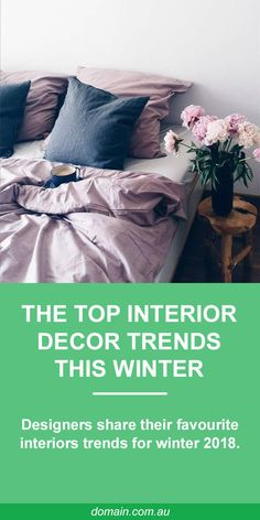 The cold nights and dark mornings of winter are few people's favourite time of year, but the changing of the seasons does provide a valid excuse to change your home's interiors for comfort, style and warmth.