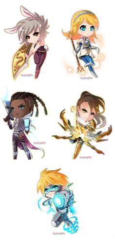 League of Legends chibi