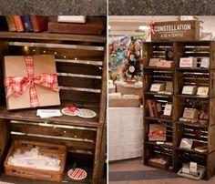 Apple Crate Shelves | Best Home Depot Hacks and Homesteading Tips & Tricks at http://pioneersettler.com/home-depot-hacks-homesteading-tips-tricks