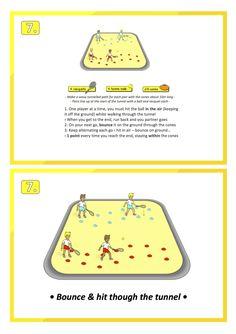 tennis practice skill games pe school sport education teach lesson