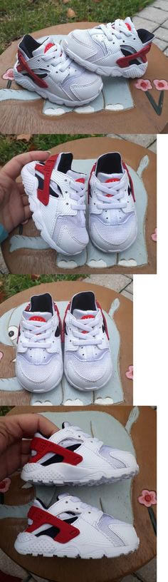 e7bd9685a6a7 Baby Shoes 147285  Nike Huarache White Red Black Brand New Toddler 4C - gt