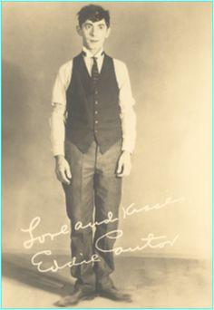 Eddie Cantor Comedian, actor, and singer Joe Besser, Charlie Mccarthy, Irving Berlin, Tap Dance, Disney S, Burlesque, Comedians, Vintage Men, Musicals