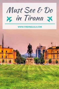 Wondering what are the best things to do in Tirana? Including suggestions for where to stay, what to eat, & the Top Things to do in Tirana Albania! Backpacking Europe, Europe Travel Guide, Travel Guides, Travel Abroad, Visit Albania, Albania Travel, Europe Destinations, Cool Places To Visit, Places To Travel