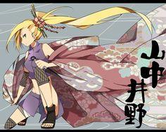 Yamanaka Ino Naruhina, Naruto Uzumaki, Anime Naruto, 1 Hokage, Inojin, Clover Flower, Naruto Images, Simple Backgrounds, Sakura Haruno