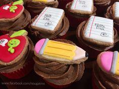 Cupcakes Día del maestro. Nougat Creaciones Mexico