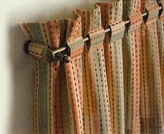 Glorious Make Rod Pocket Curtains Ideas. Enchanting Make Rod Pocket Curtains Ideas. No Sew Curtains, Rod Pocket Curtains, Curtains With Blinds, Window Valances, Linen Curtain, Rideaux Design, Curtain Headings, Living Room Drapes, Curtain Designs
