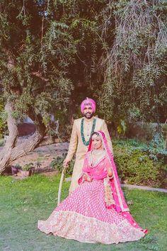 Looking for Arjuns Tryst with the camera? Browse of latest bridal photos, lehenga & jewelry designs, decor ideas, etc. on WedMeGood Gallery. Sikh Bride, Sikh Wedding, Wedding Lehnga, Bride Indian, Punjabi Bride, Punjabi Wedding, Wedding Couples, Destination Wedding, Wedding Dresses