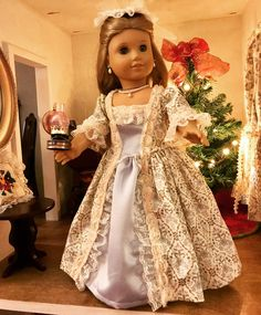 Colonial Ballgown by Doll Daydreams