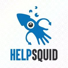 Exclusive Customizable Logo For Sale: Help Squid | StockLogos.com https://stocklogos.com/logo/help-squid