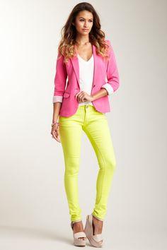neon yellow pants mis colores favoritos