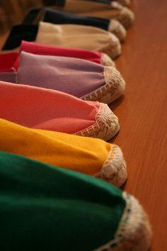 Espadrilles : chaussures typiques du #Paysbasque
