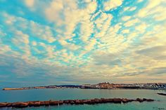 Otranto Cool Pictures, Places To Visit, Clouds, Italy, Mountains, Sunset, Amazing, Nature, Travel