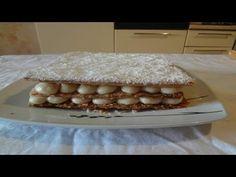 Come fare la Millefoglie - Ricette Dolci - YouTube Vanilla Cake, Desserts, Food, Tailgate Desserts, Deserts, Eten, Postres, Dessert, Meals
